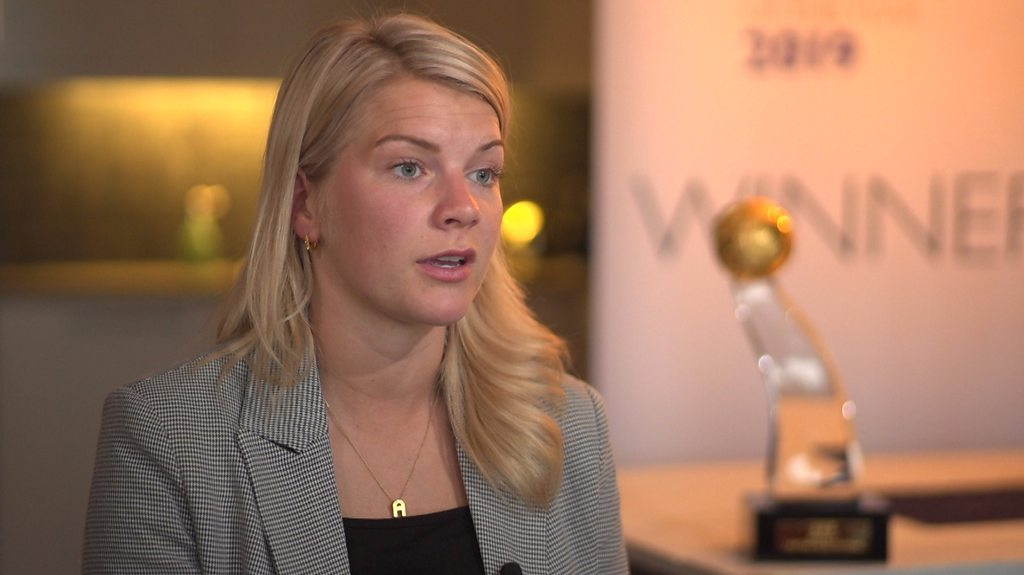 Ada Hegerberg on equality: 'One day the men in suits will understand'