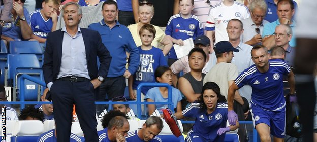 The incident that led to the dispute between Carneiro and Mourinho