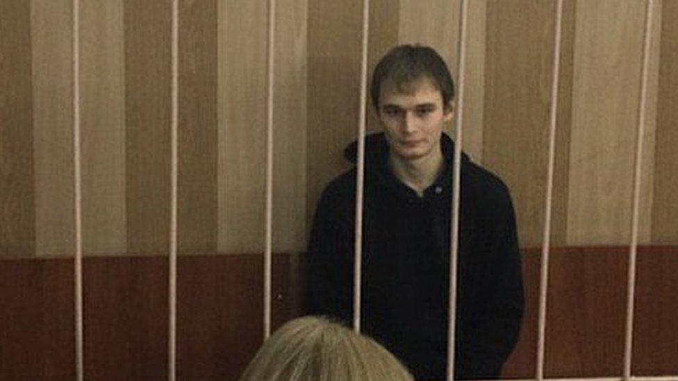 Аспиранта МГУ Азата Мифтахова арестовали с третьей попытки photo
