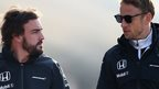 Alonso is bigger challenge - Button