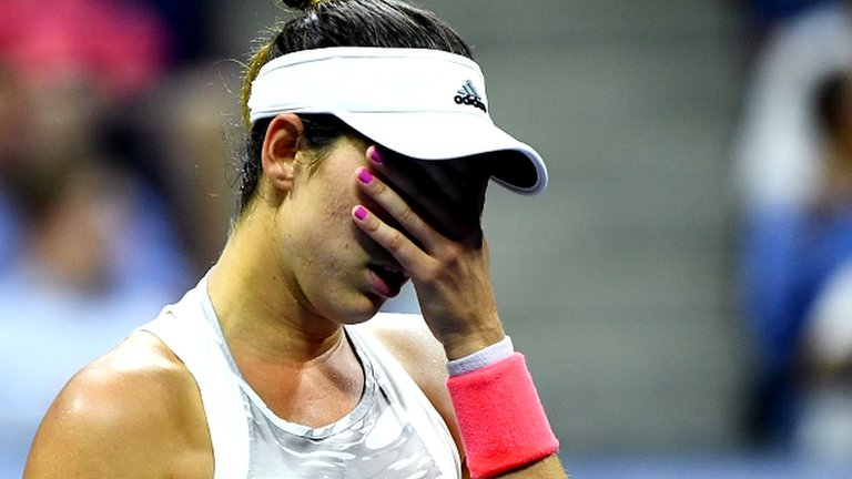 Muguruza & Raonic knocked out of US Open