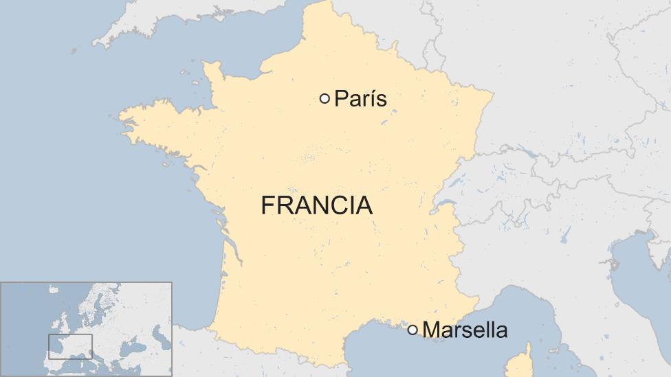Mapa Francia