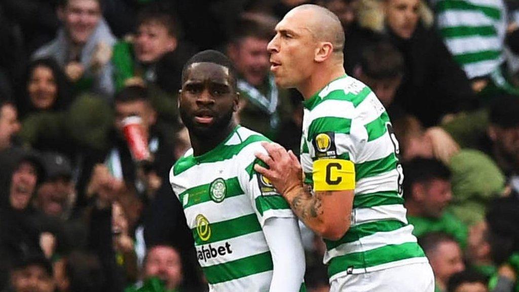 Watch: Edouard seals Celtic's treble treble in Scottish Cup final win