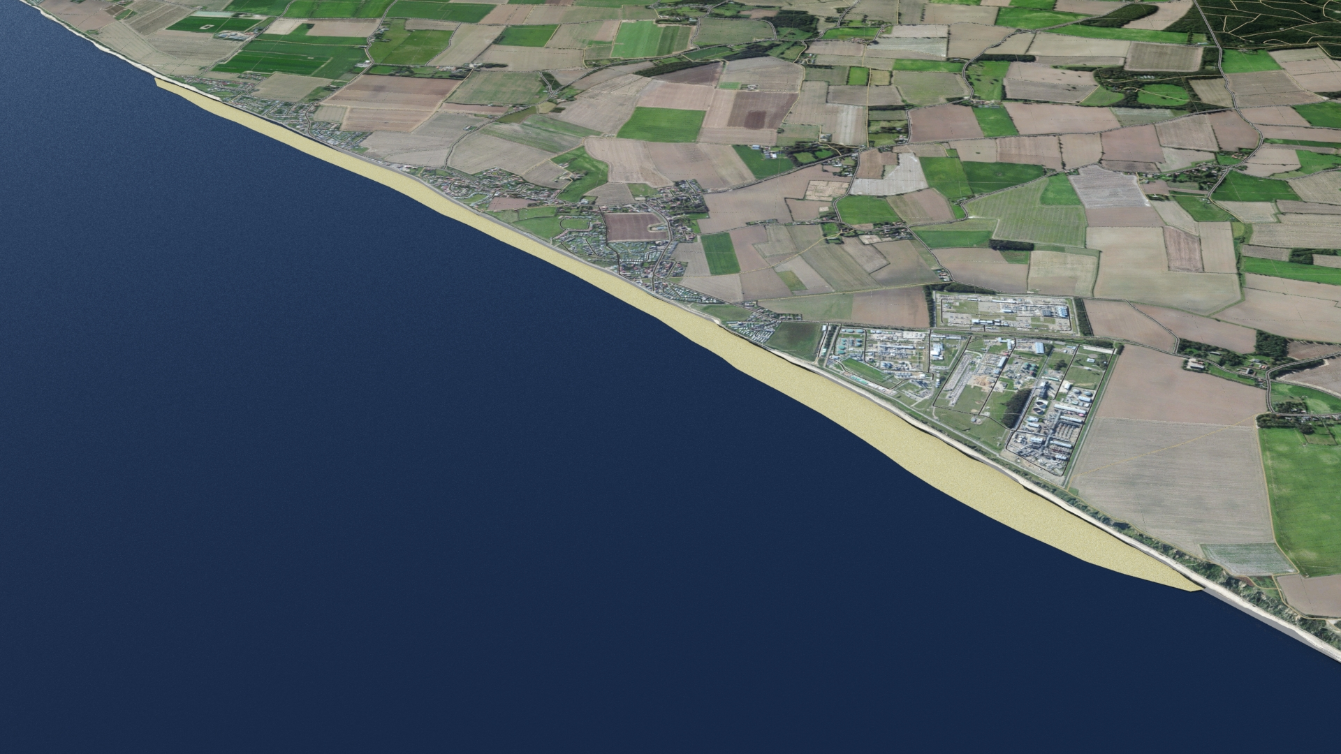 Bacton Gas Terminal to be protected by sandscaping plan