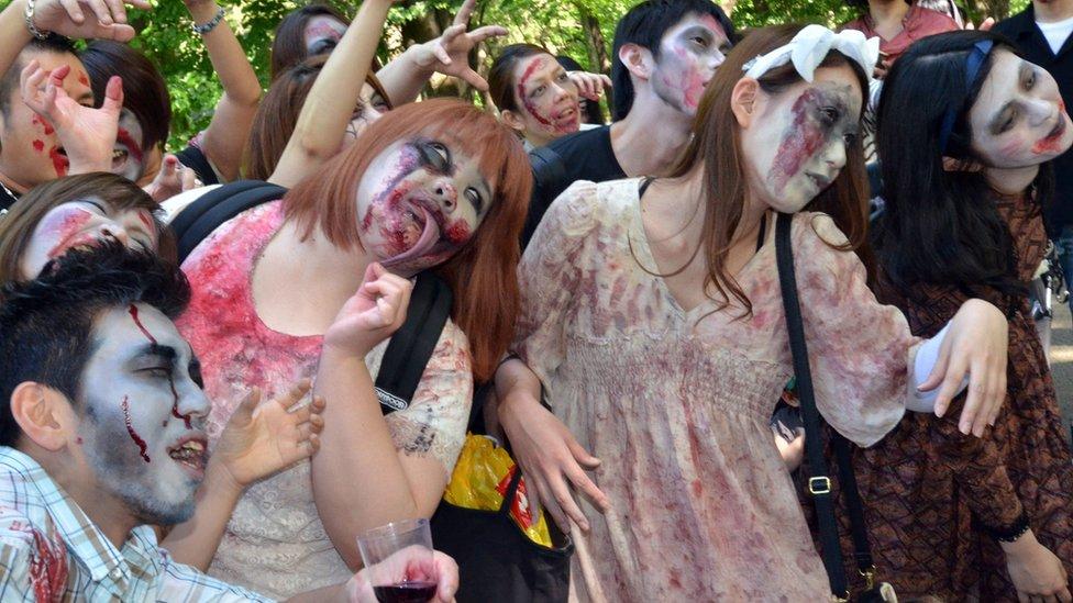"""Muchas empresas japonesas son descritas como """"zombis"""" debido a sus problemas."""