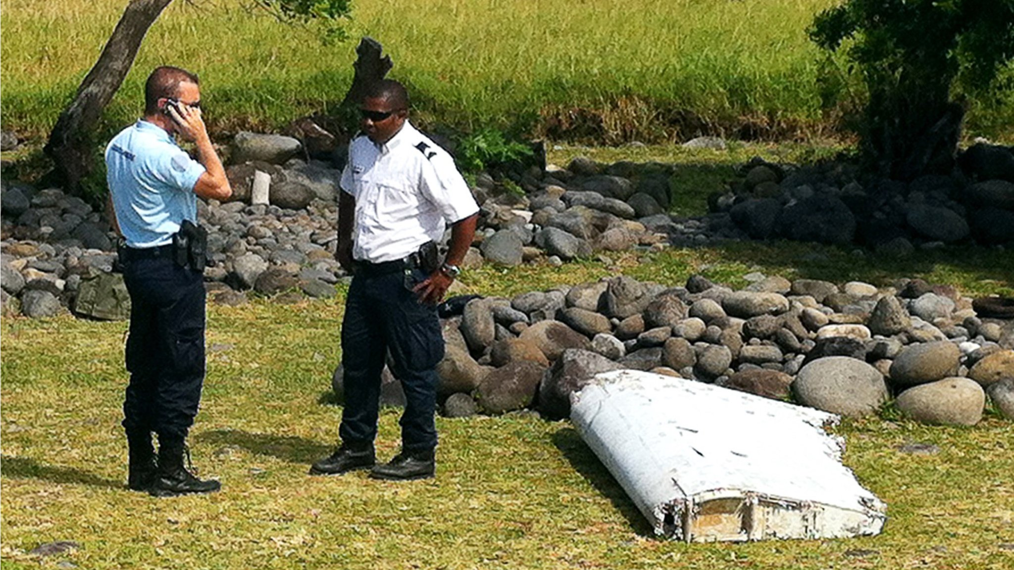"Malaysia says it would be ""premature"" to speculate whether debris found on the Indian Ocean island of Reunion comes from the missing flight MH370."