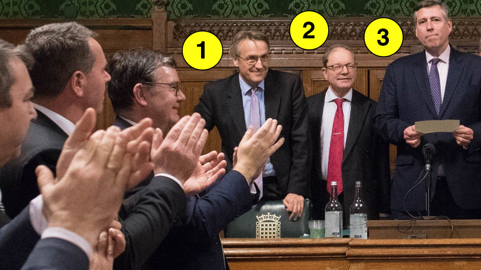 Theresa May confidence vote: What was going on in committee room 14?