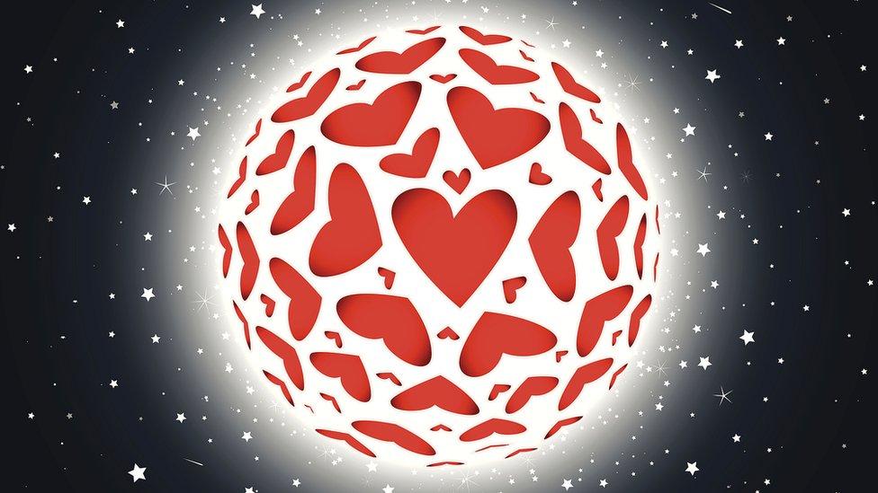 Planeta de corazones