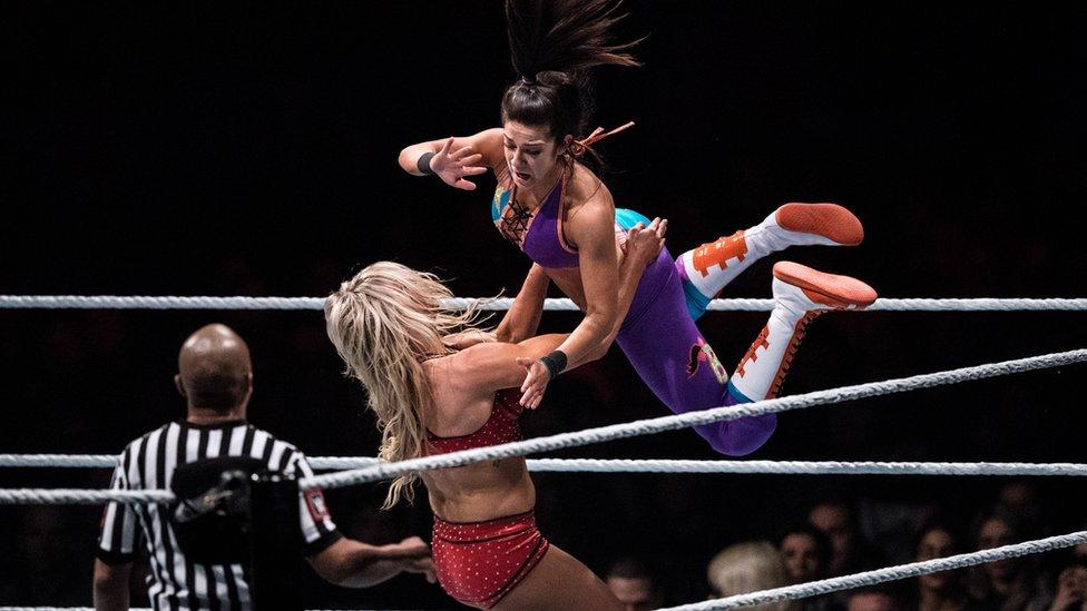 No female WWE wrestlers at Saudi Arabia show