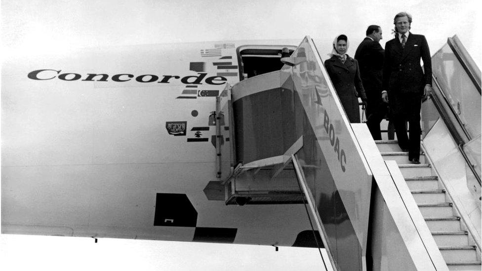 La reina Isabel II de Inglaterra fue uno de sus pasajeros.