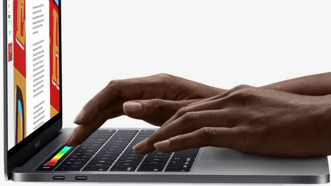 Apple adds Touch Bar to MacBook Pro laptops