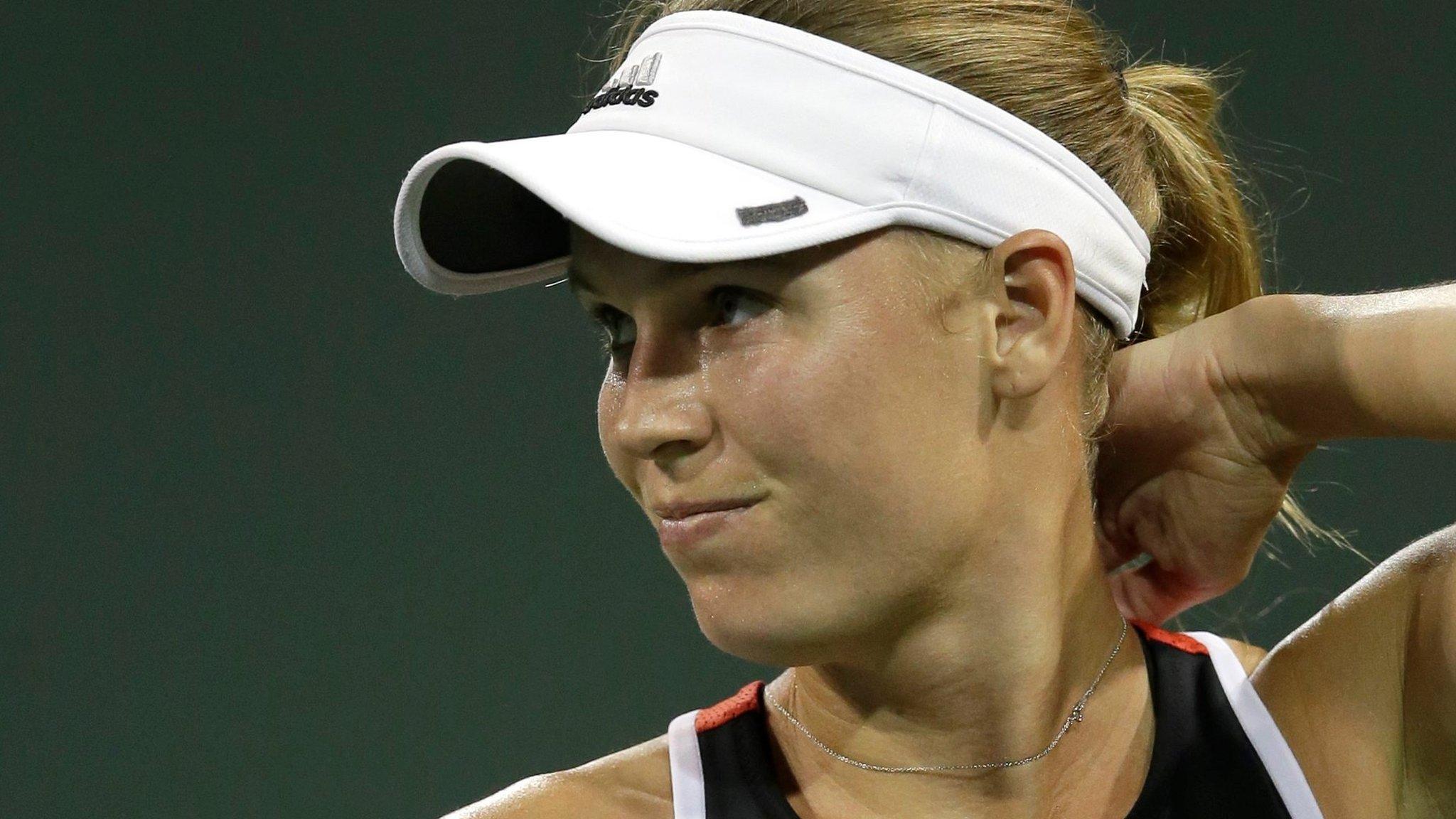 Caroline Wozniacki claims Miami Open fans made death threats in Monica Puig defeat