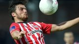 Derry City midfielder Philip Lowry