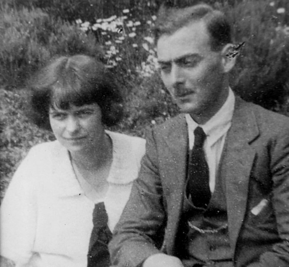 Padres adoptivos de Anthea, Margaret y Douglas Shannan. Foto: Anthea Ring.
