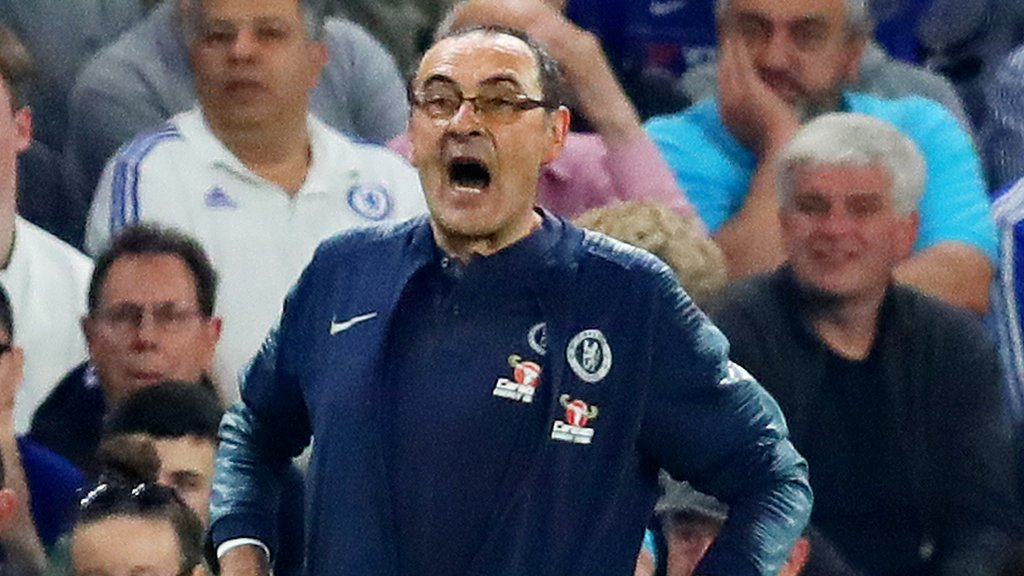Maurizio Sarri: Chelsea boss charged by FA after Burnley draw
