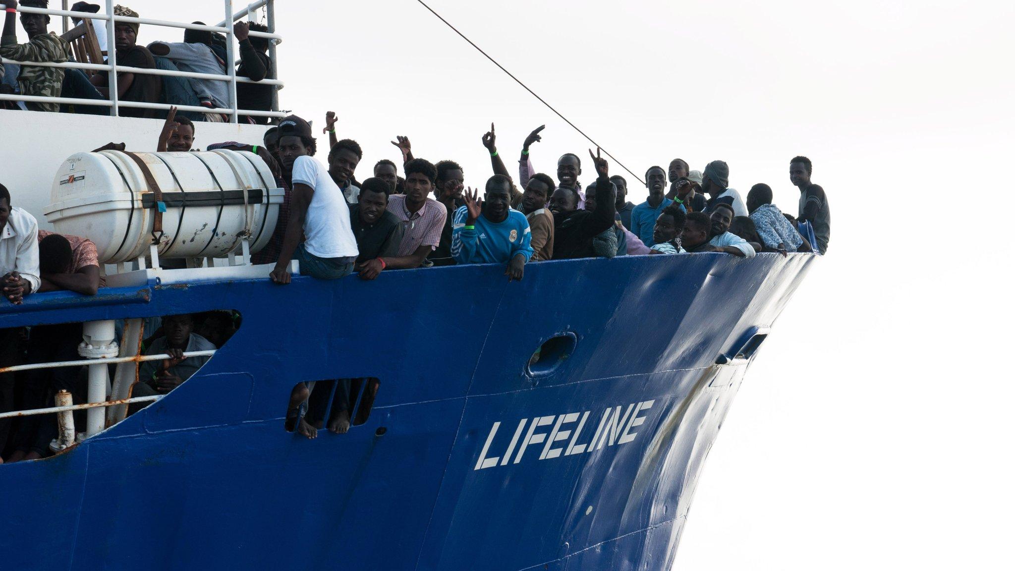 Italy migrant row: 'Inhumane' Malta refuses rescue ship
