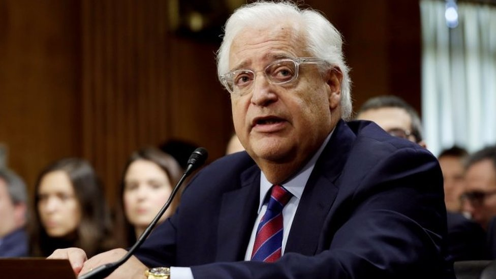 Pro-settlement hardliner Friedman confirmed as US envoy to Israel