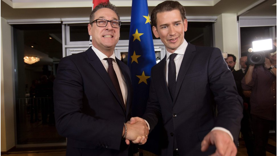 Austria far right: Freedom Party wins key posts in new government