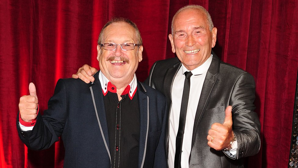 Cannon and Ball at the British Soap Awards in 2013