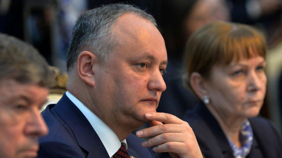 Президента Молдови Додона тимчасово усунули з посади