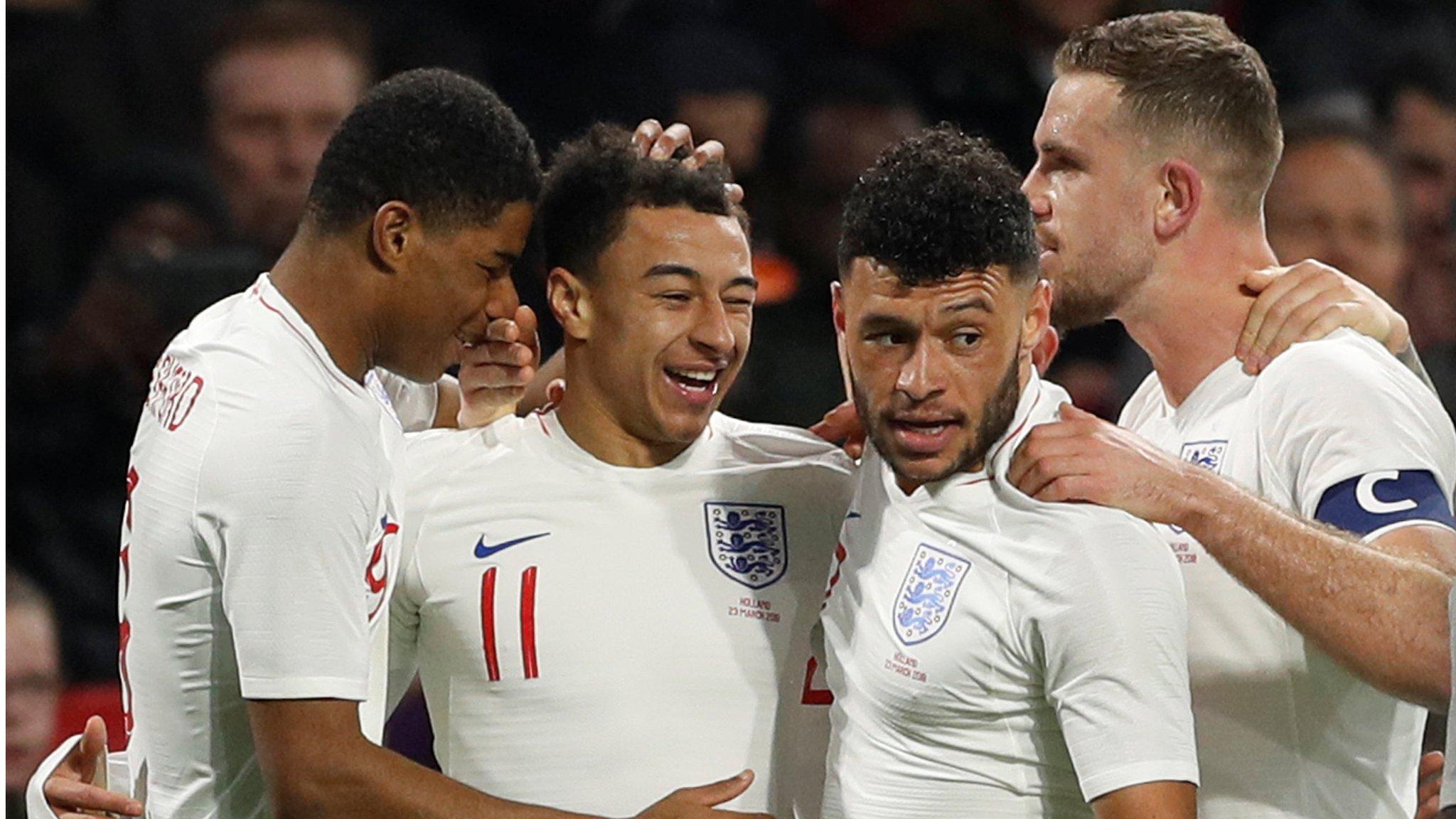 Netherlands 0-1 England