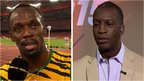 VIDEO: Bolt tells Johnson to stop doubting