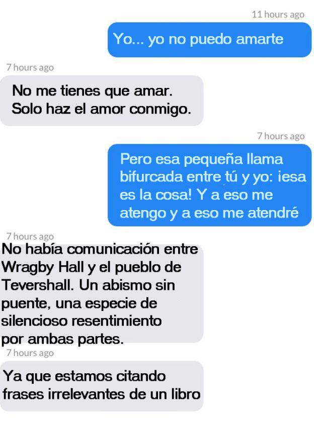intercambio de mensajes 2