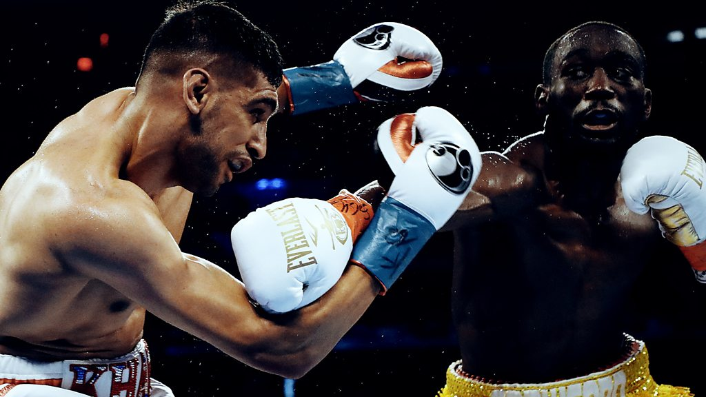 Amir Khan explains bizarre end to Terence Crawford fight