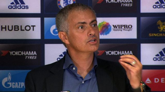Chelsea boss Jose Mourinho defends Diego Costa