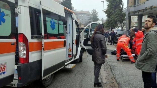 В Італії стріляли в іноземців, є поранені