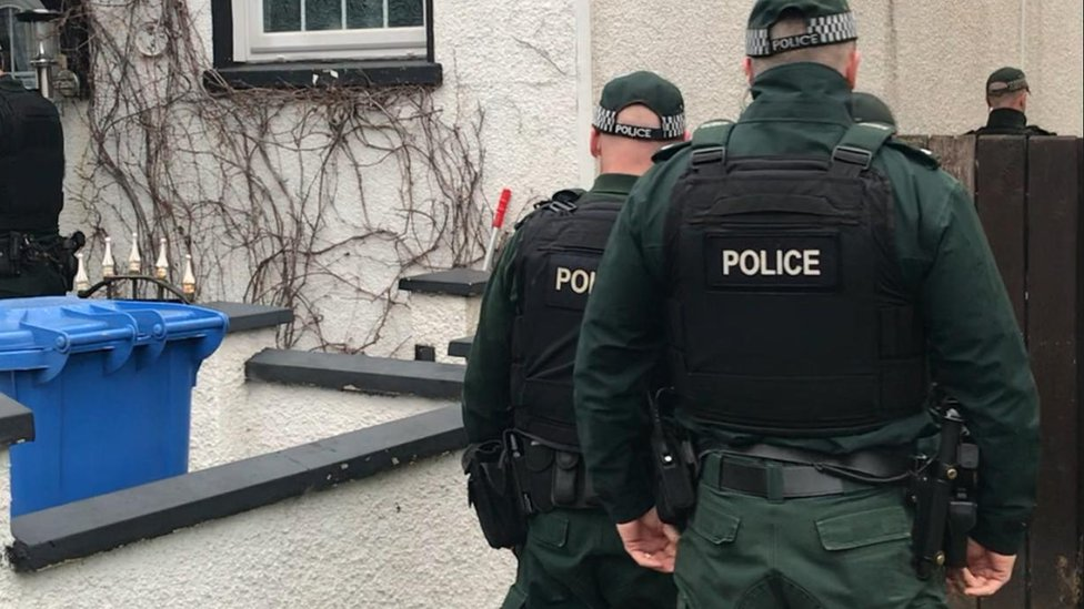 Ten in court over east Belfast raids