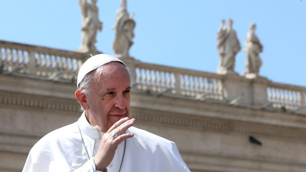 РПЦ: папа римский не собирается в Россию