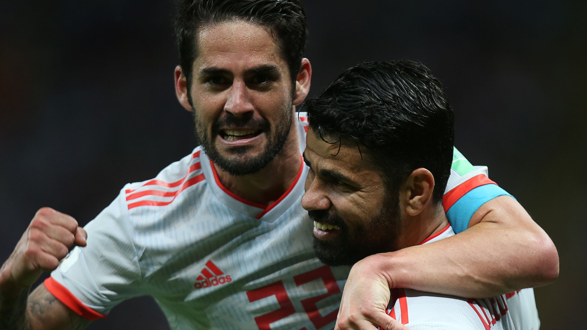 Costa scores fortuitous goal as Spain survive Iran scare - report & highlights