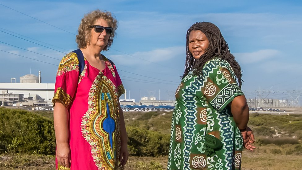 South African women win Goldman prize for stopping nuclear deal