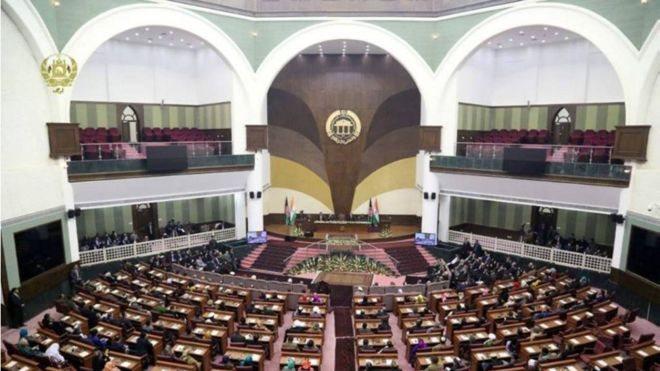 پارلمان فرمان تقنینی اشرف غنی را درباره برگزاری تظاهرات رد کرد