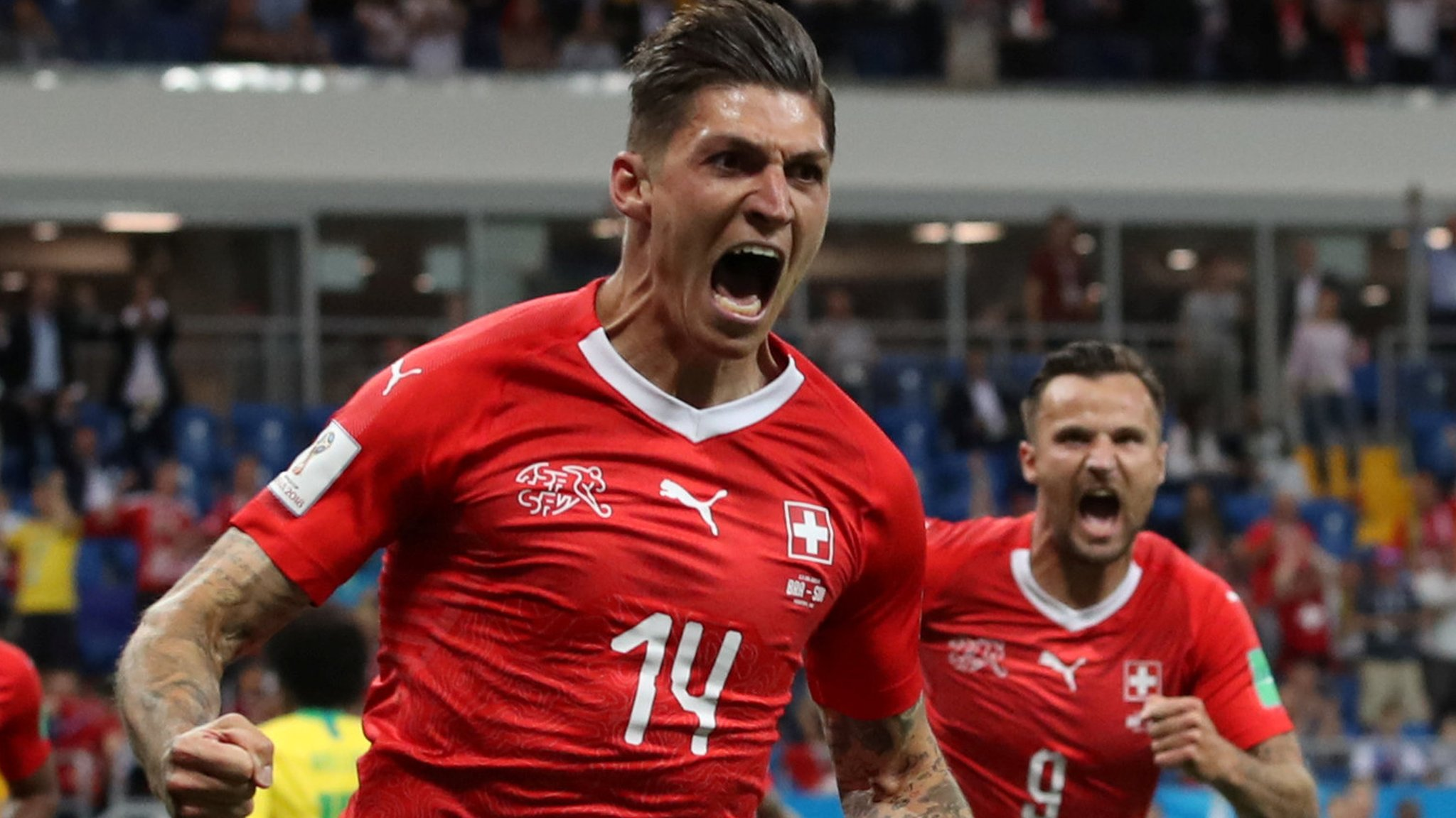 World Cup 2018: Brazil held to 1-1 draw by Switzerland in Group E opener