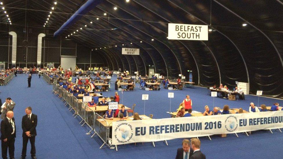 EU referendum: Northern Ireland votes to Remain