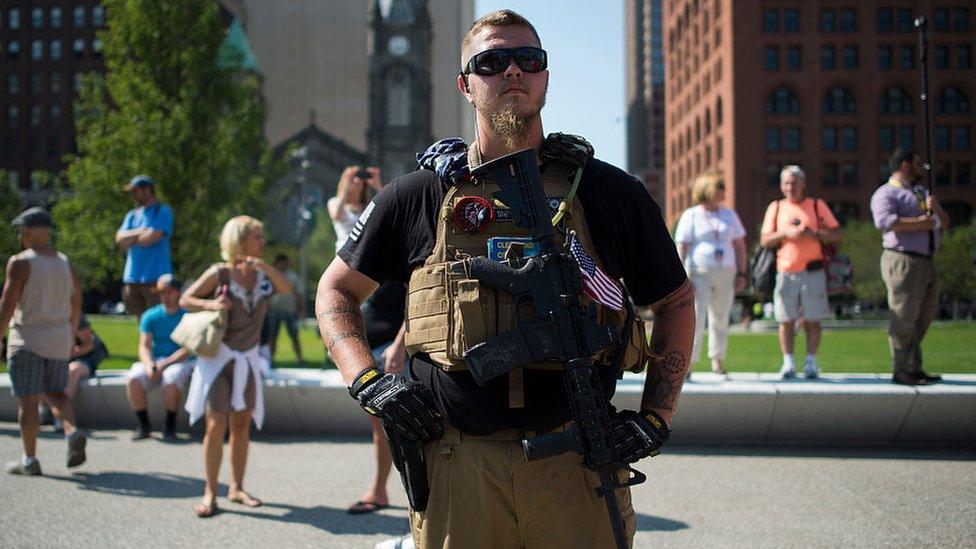 Miembro de la Milicia de Ohio