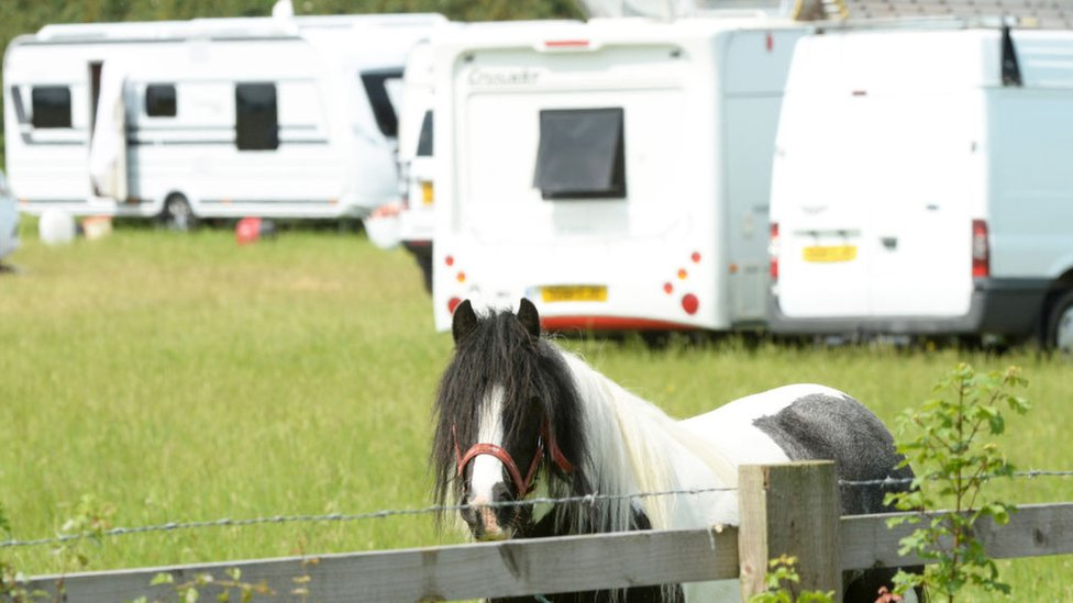 Calls for action over illegal traveller sites