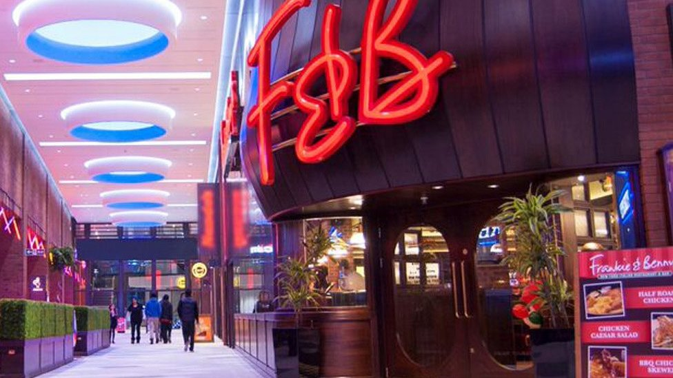 Frankie & Benny's owner Restaurant Group to close 33 sites