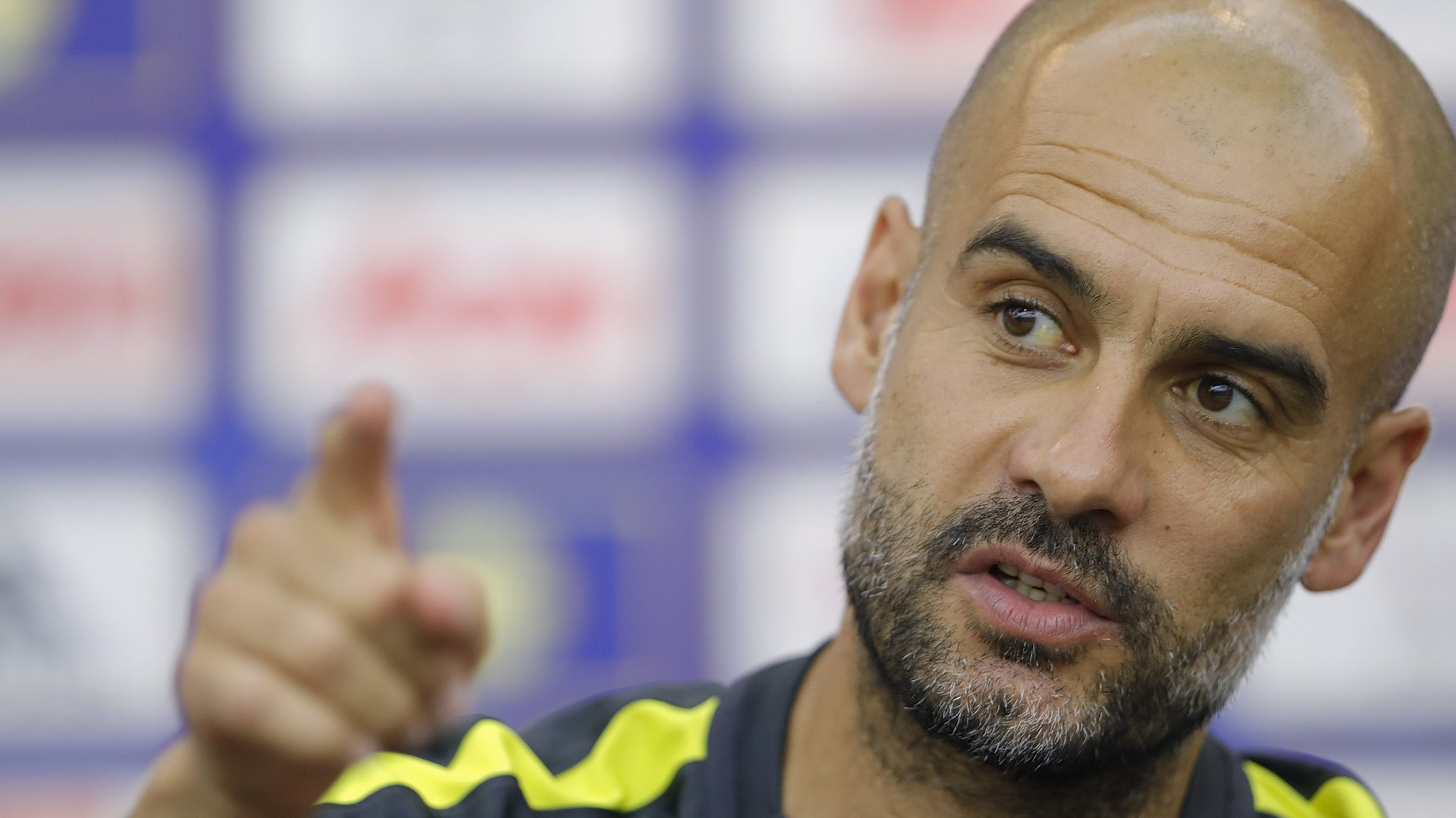 Guardiola bans overweight players from training