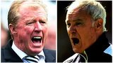 Steve McClaren & Claudio Ranieri