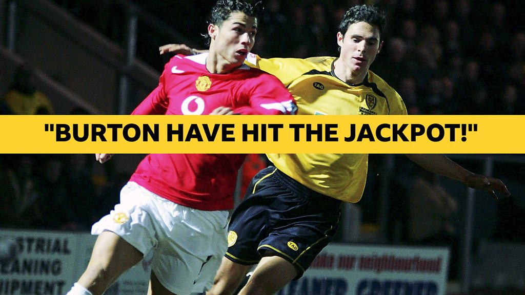 When Cristiano Ronaldos Manchester United could not beat Burton Albion