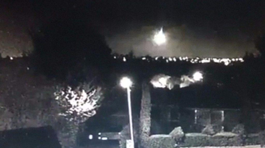 'Meteor' captured on camera over Australia