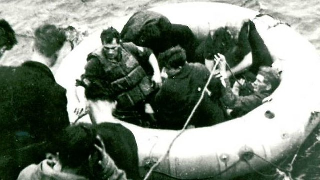 Pants for fishing nets: How stranded WW2 crew survived