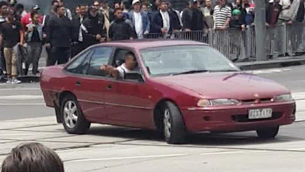 Melbourne car deaths: Mobile footage shows driver
