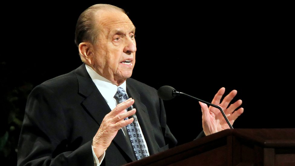 Latter Day Saints church leader rejects 'Mormon' label   BBC