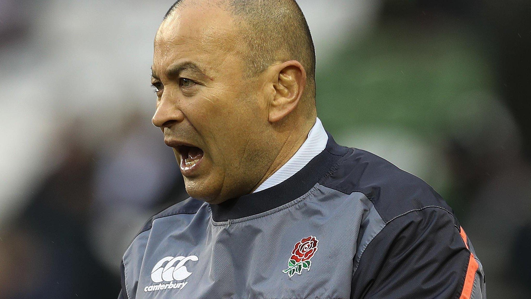 British & Irish Lions: England's Eddie Jones suggests four-man plan for Lions captaincy