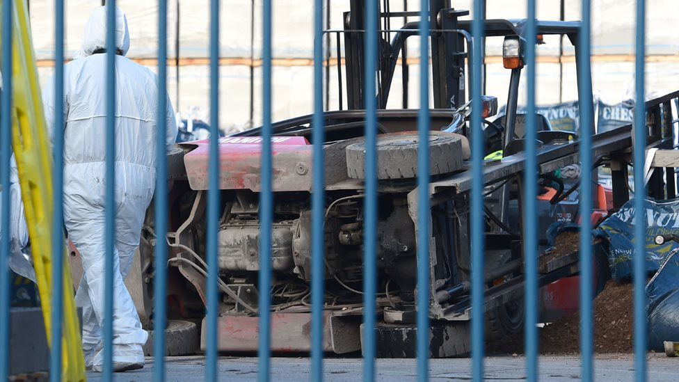 Man critical in Wavertree forklift truck accident