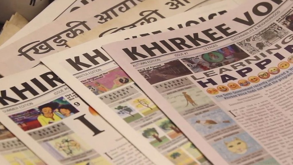Khirkee Voice: The Delhi newspaper bridging the Indian-African divide
